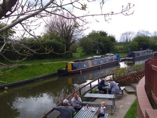 """Brockhall"" 60' Narrow Boat traditional stern"