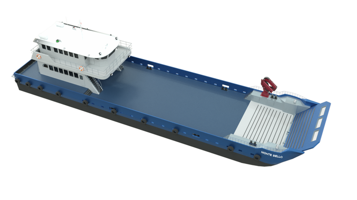 MOC Shipyards 45m Cargo Passenger Landing Craft