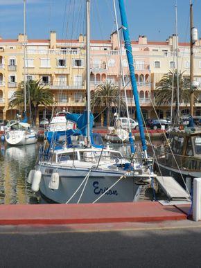 in harbour