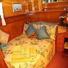 Shangri-La  classic gentlemans yacht