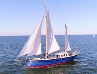 Bekebrede oceangoing sailing yacht