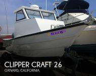 1982 Clipper Craft 26 Dory