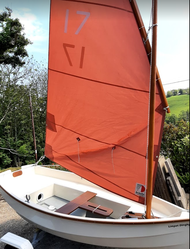 Limpet Dinghy and Trailer - Cornish Crabbers