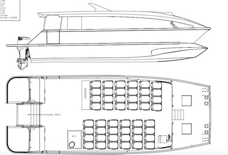 NEW BUILD - 14.26m Passenger Catamaran Kitset