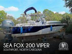 2014 Sea Fox 200 Viper