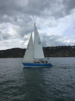 Sailing with no 3 jib