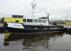 Auction: Damen Shipyards cabin boat with loading crane Swalinge