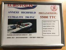 2017 HIGHFIELD 290 ULTRALITE