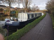 63ft narrow boat Colecraft