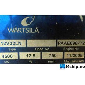 Wärtsilä 12V32LN  mship.no