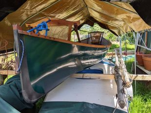 Vermont fishing rowing canoe- under offer