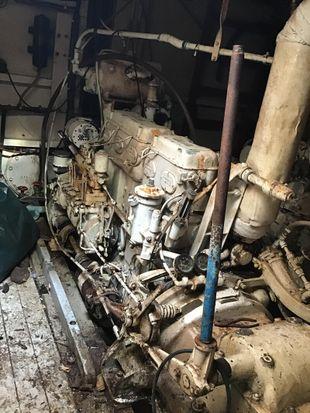 Gardner 5LW Diesel engine