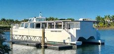 Tourist day cruiser or passenger transfer ferry