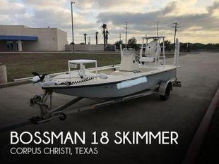 2017 Bossman 18 Skimmer