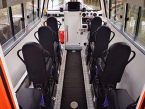 10 mtr Crew Transfer Cabin RIB for sale or charter