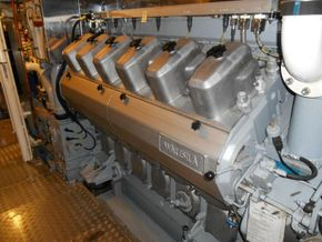 Main engine 1 Wartsila 12V200