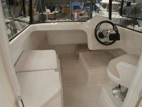 Pilothouse interior