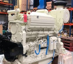640 HP CUMMINS KTA19-M3 NEW MARINE ENGINES