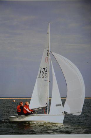 RS 200 sail no 1322