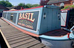 Trad stern 40ft Narrow Boat Basil