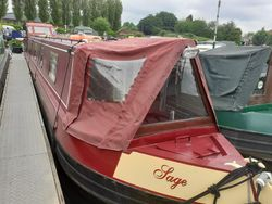 Sage 54ft Cruiser Stern built 2005 by S.W.D.S.
