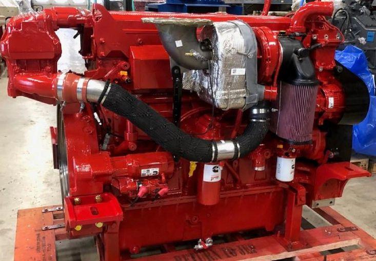 575 HP CUMMINS X15 NEW MARINE ENGINES