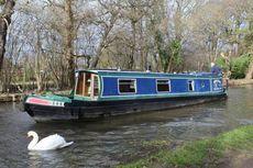 1991 Peter Nicholls Steelboats 42' Narrowboat