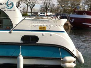 Nicols Confort 900 Canal and river cruiser - Stern