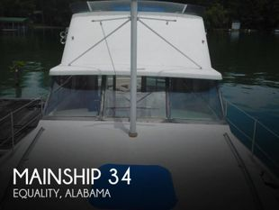 1979 Mainship 34 Diesel Cruiser