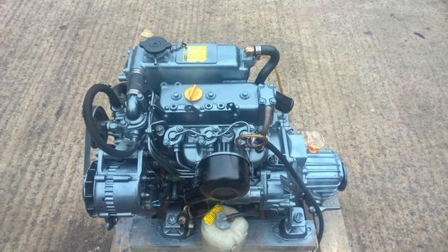 Yanmar 3GM30F 24hp Marine Engine Package.
