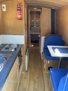 """23ft 6"""" traditional built narrowboat made in 2005 by Paul Widdowson"""