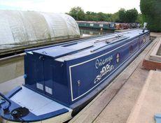 Owamya 58ft 2001 2 berth traditional stern narrowboat