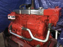 Ford 120hp 6 cylinder diesel engine