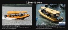 7.50m sea-taxi