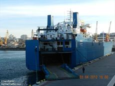 464' 5,638 mt DWT RoRo Ship