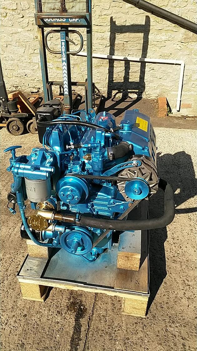 Nanni 4.220HE 50hp Marine Diesel Engine Package - Pair Available