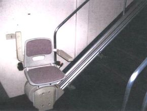 Stair lift for Handicaped passengers