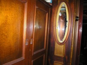 Interior Panelling with mirror