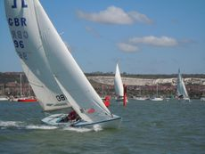 27ft Soling
