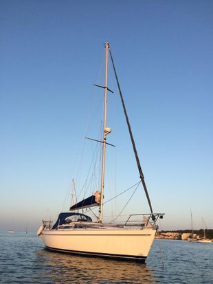 Moody 336 Fin Keel For Sale