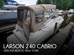 2005 Larson 240 Cabrio