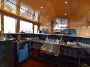 Passenger Trip Boat 36m  - Galley