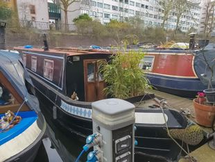 1989 Narrowboat 51ft with London mooring