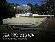 2006 Sea Pro 238 WA