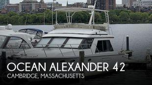 1987 Ocean Alexander 42 Sedan Bridge
