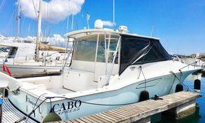 Starboard Stern Profile