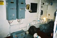 Desalination - Reverse Osmosis - Fresh Water - Barge ex-US Navy