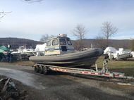 2001 28' x 9'8 Zodiac Full Cabin RIB - New Price!