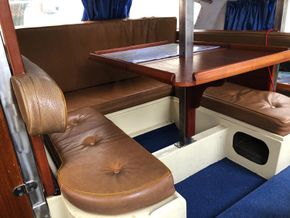 Saloon and table converts to double bunk