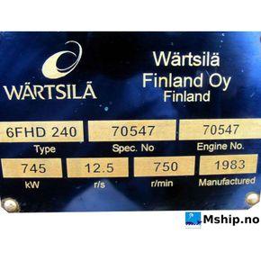 Wärtsilä 6FDH 240    mship.no